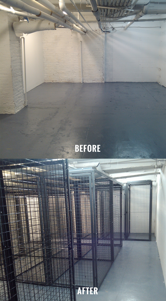 Have an empty room in need of storage units? Let Giant Industrial Installations perform a FREE measurement and layout assessment!