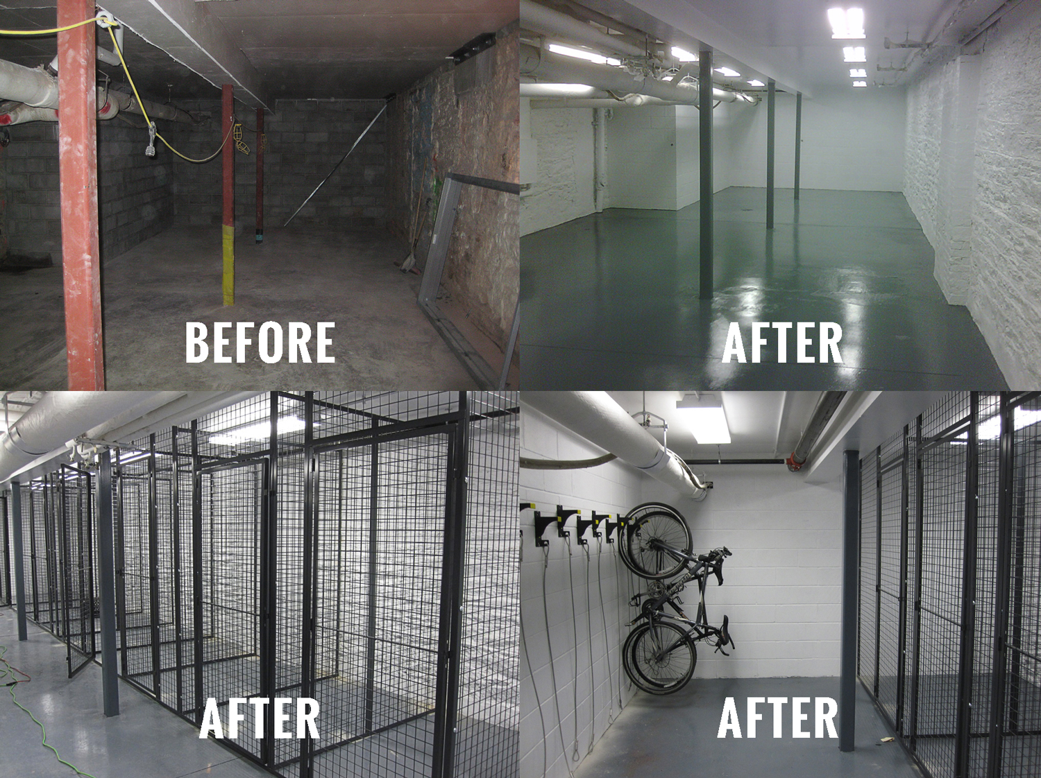 Giant Installations Can Literally Transform Your Existing Building Storage Areas Into Clean Organized