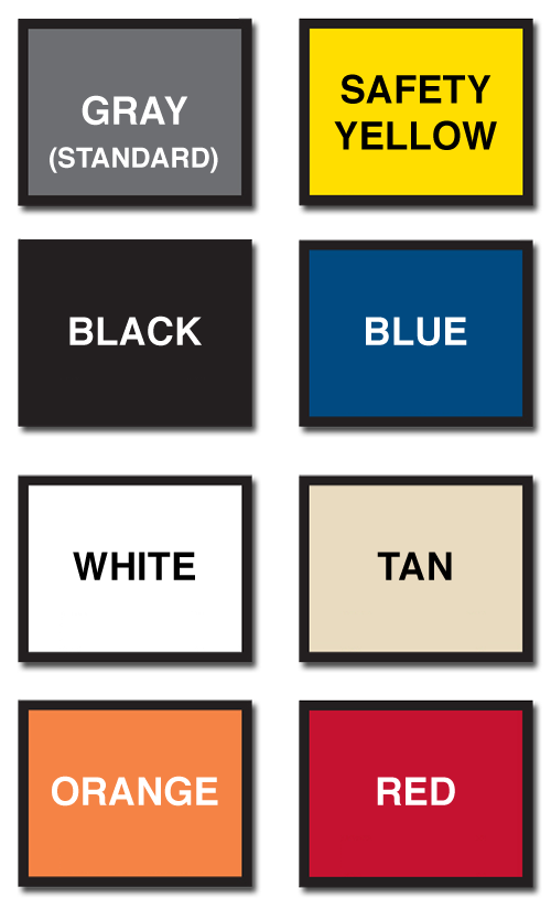 Giant Industrial Installations Product Color Chart